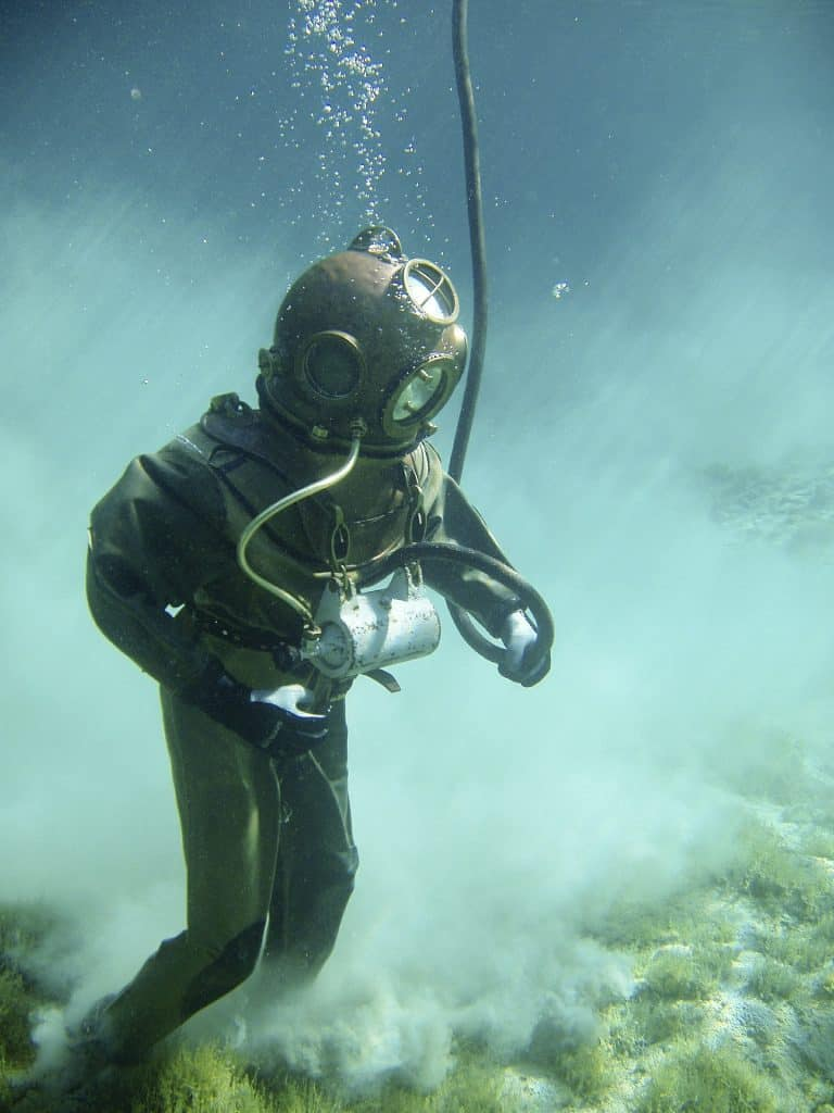 Wrong Equipment for underwater welding