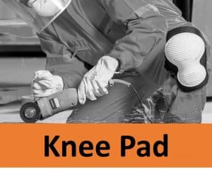 Grinder with knee pads