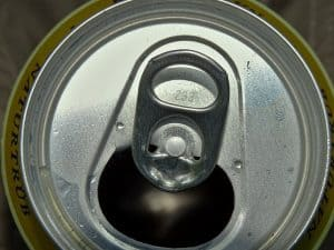 empty beer can